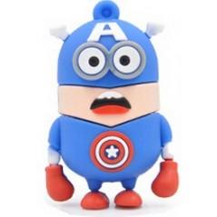 Memoria Flash - Minions - Capitán América
