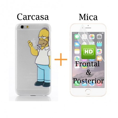 Super Pack  iPhone 6 - Carcasa + Protector HD Frontal & Posterior