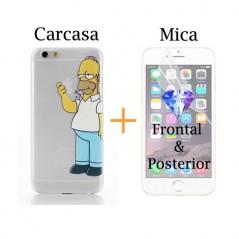 Super Pack - Carcasa + Protector HD Frontal & Posterior