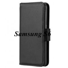 Estuche de  Cuero - Samsung S6 edge