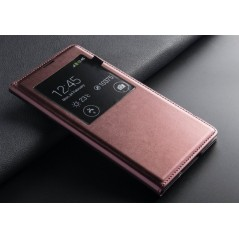 Estuche de Cuero Smart - Samsung S5
