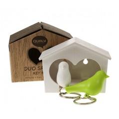 DUO Wood House - Llaveros Pájaros