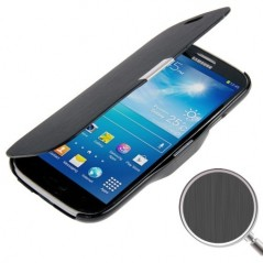 Estuche de Cuero & TPU - Samsung SIV mini