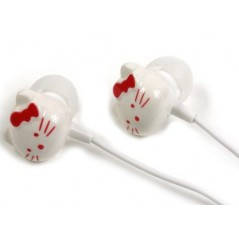 Auriculares - Hello Kitty