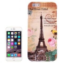 Eiffel Flowers Birds Pattern - iPhone 6