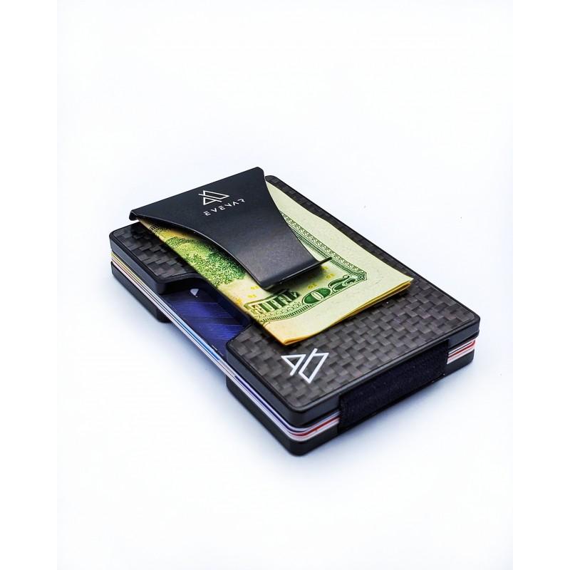 Billeteras Evenar Ultra Delgadas De Fibra De Carbono / Rfid