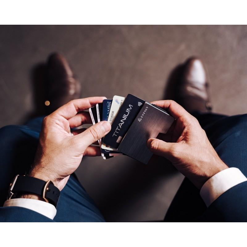 Billeteras Evenar Ultra Delgadas De Aluminio / Rfid