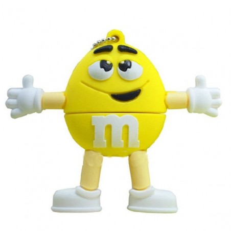 Memoria Flash - M&M - Amarillo