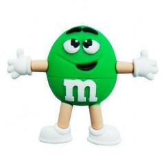 Memoria Flash - M&M - Verde