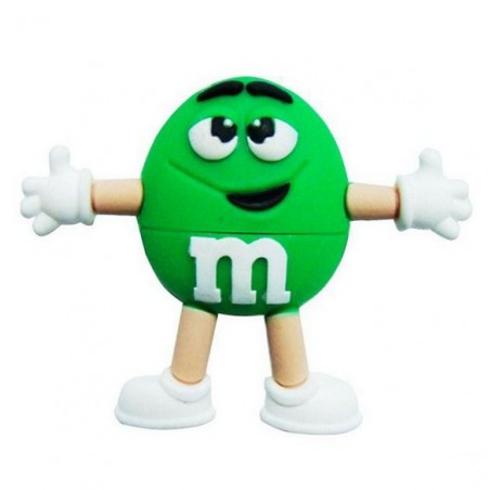 Memoria Flash - M&M - Verde