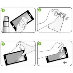 Protector Anti-Huella - iPhone 5 / 5S