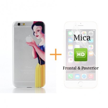 Super Pack iPhone 6 - Carcasa + Protector HD Frontal & Posterior