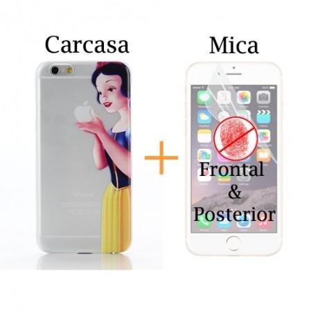 Super Pack iPhone 6 - Carcasa + Protector Antihuella Frontal & Posterior