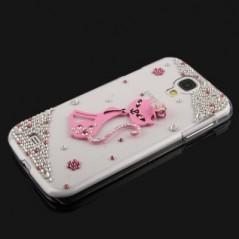 """Carcasa 3D """"Pink Cat Diamond"""""""