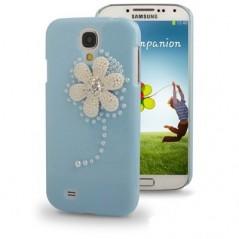 Carcasa 3D Flower Diamond - Samsung S4