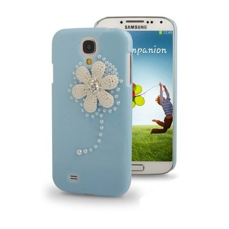 Carcasa 3D Flower Diamond - Samsung S4