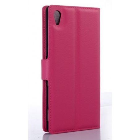 Estuche de cuero - Sony Xperia Z4