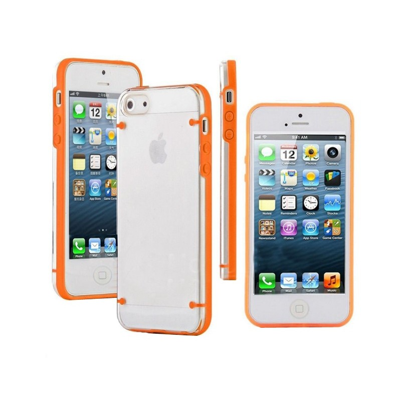 Carcasa Bumper Fluorescente - Iphone 5 / 5s
