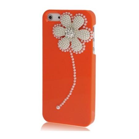"Carcasa 3D ""Flower Diamond"" - iPhone 5 / 5S"