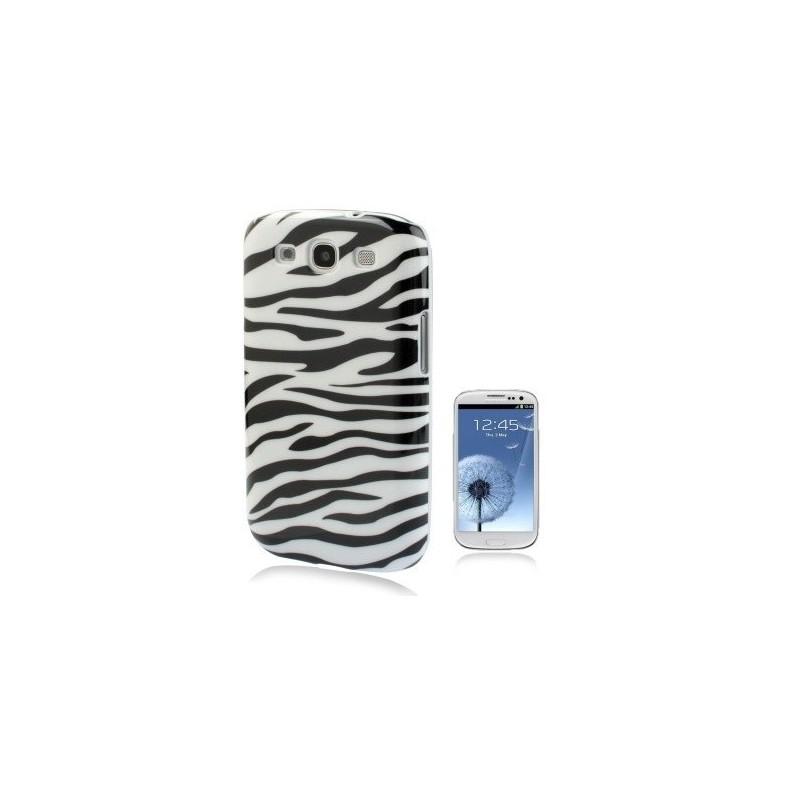 Carcasa Plástica - Zebra Pattern