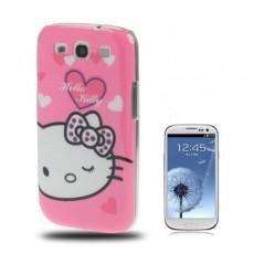 Carcasa Plástica - Hello Kitty - Samsung S3