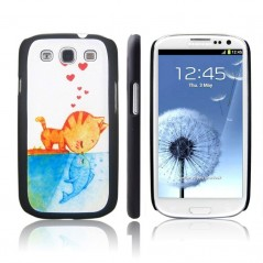 Carcasa - Gatito Love - Samsung S3
