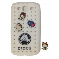 Carcasa TPU - CROCS - Samsung S3
