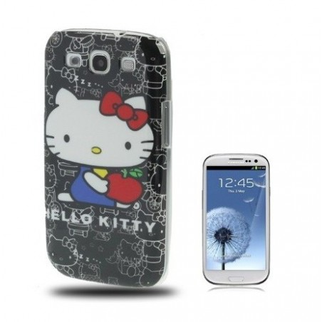 Carcasa Plástica - Hello Kitty - Samsungs S3
