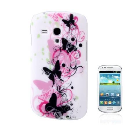 Carcasa Mariposas - Samsung S3 mini