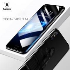 Baseus 3D pantalla completa para iPhone x - vidrio templado delantero y contraportada
