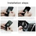 Baseus - Soporte de coche para teléfono o GPS