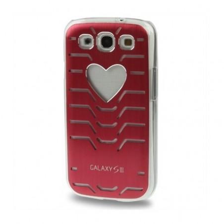 Carcasa Luz & Corazón - Samsung S3