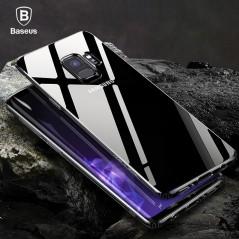 Baseus - anti knock TPU de silicona transparente para Samsung Galaxy S9 S9 plus