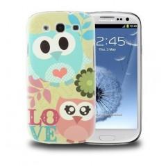 Carcasa Plástica - Owl Pattern - Samsung S3