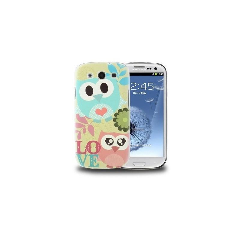 Carcasa Plástica - Owl Pattern