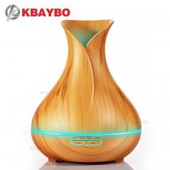 Humidificador de aire de 400 ml con difusor de Aroma - Luz LED