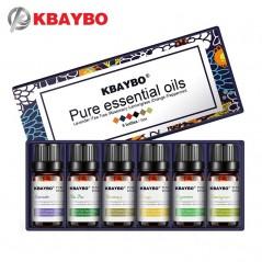 Esencia de Aceites para humidificador - 6 tipos de fragancia de lavanda, árbol de té, romero, limón, naranja