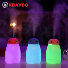 USB - Humidificador de aire de 40 ml - Luz LED