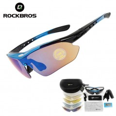 RockBros - Set de Gafas de ciclismo - Incluye 5 lentes