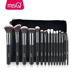MSQ Pro 15 unidades de Cepillos Cosméticos de Maquillaje