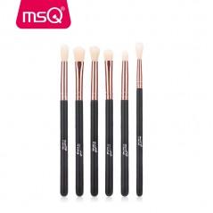 MSQ - Eyeshadow Brush Set 6 piezas pinceles de maquillaje para los ojos
