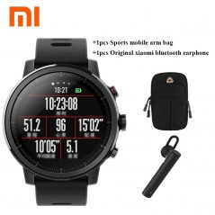 Xiaomi - Amazfit - Smartwatch con GPS, pulsómetro 5ATM impermeable