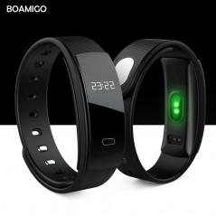 BOAMIGO - Reloje inteligente bluetooth - ritmo cardíaco - mensaje - recordatorio - monitoreo de sueño para IOS & Android