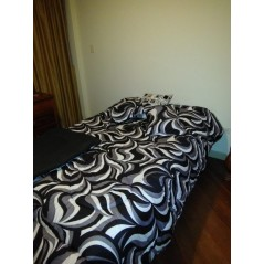 Cobertor acolchado capri estampada