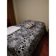 Cobertor acolchado capri estampada - Doble Lado