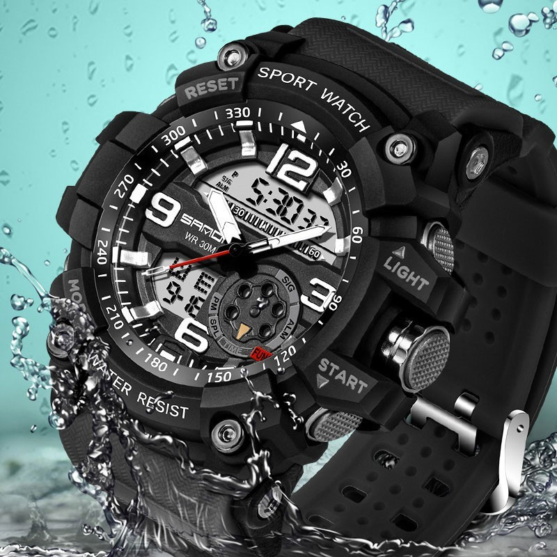 SANDA 759 Military Watch - Waterproof