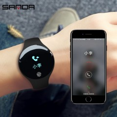 SANDA Waterproof Bluetooth Smart Watch - Fitness - Verano - 2018