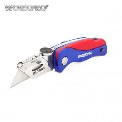 WORKPRO - Cuchillo plegable - 5 cuchillas.