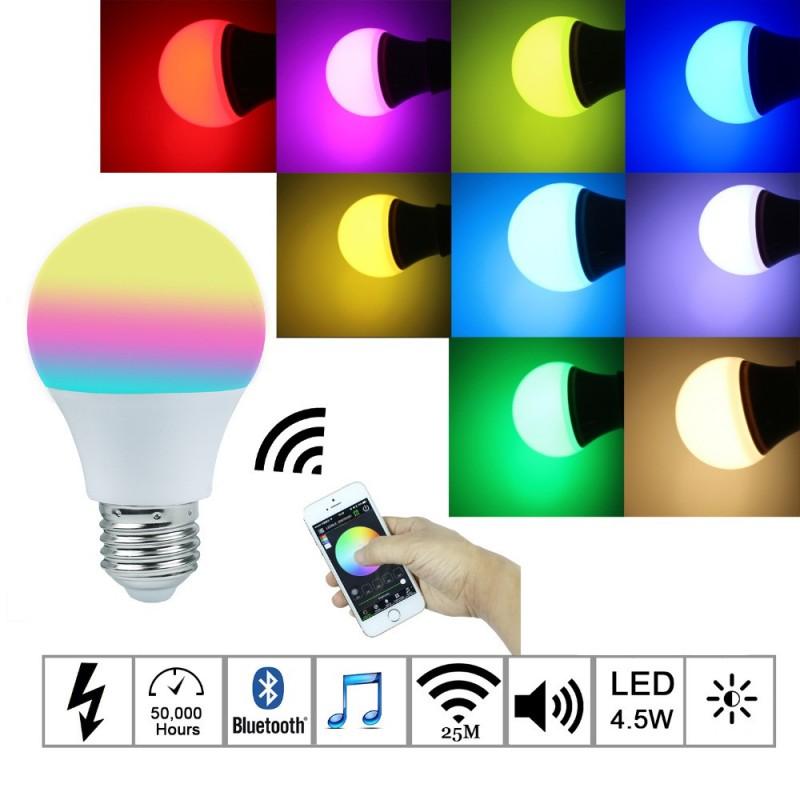 Magic Blue 4.5W - RGBW led -  Bluetooth 4.0 foco smart