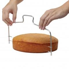 Cake Slicer - Acero Inoxidable - Cortador de Masa Ajustable